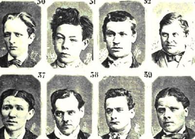 L'almanacco del crimine. Il male catalogato da Cesare Lombroso.